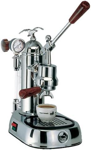 LaPavoni 610100295 - Cafetera de espresso manual, color plateado ...