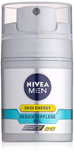 Nivea Men Skin Energy Gesichtspflege Gel Q10, 1er Pack (1 x 50 ml)