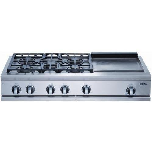 DCS Appliances : CP-485GD-L 48in Professional Cooktop by DCS