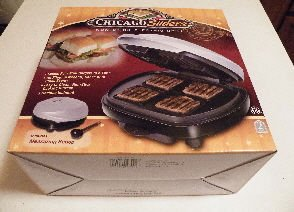 Chicago Sliders Non-stick Electric Grill from East West Distributing Co.