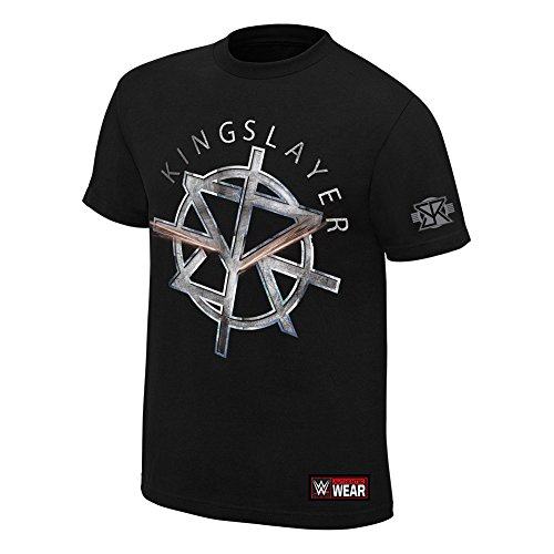 WWE Seth Rollins The Kingslayer Authentic T-Shirt Black Small by WWE Authentic Wear