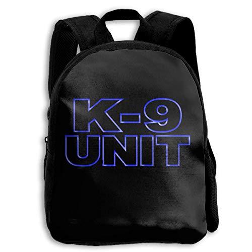 LIBERVIV K9 Unit Police Dog Kids Backpack Boys' Girls' School Bookbag for Children