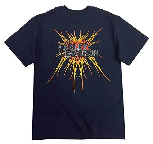 Harley Davidson Script Burst Youth T Shirt