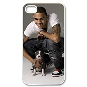 CTSLR Pop Singer Star Series Protective Hard Back Plastic Case Cover for iphone 4 4S 4G - 1 Pack - Chris Brown - 10 by ruishername