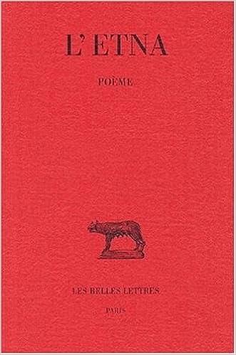 En ligne téléchargement L'Etna. Poème, 2e édition pdf