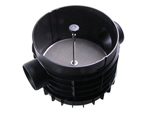 PLURAFIT Filter mit Filtersieb, Tankeinbau mit Anschluss für Zulaufberuhigung