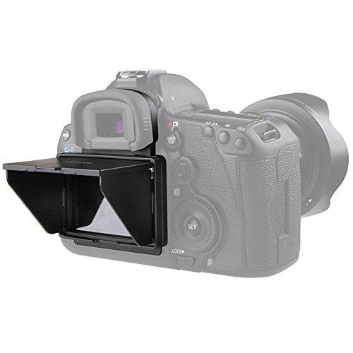 Sun Shield Pop-up LCD Hood,Sun Shade & Screen Protector for Camera LCD HOOD (Camera LCD HOOD-Canon 5D3/5D4)