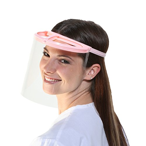 Bio-Mask Face Shield With 10 Shields (Pink)