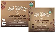 Four Sigmatic Mushroom Coffee Latte - USDA Organic Coffee with Maitake & Chaga Mushrooms - Vegan, Paleo - Gratify - 10 Count