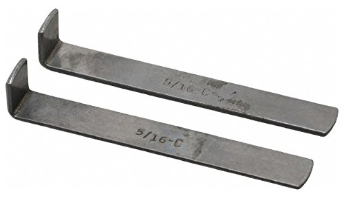 2 Piece Style C Broach Shim, 5/16'' Keyway Width, 0.055'' Shim Thickness 2 Pack by duMont