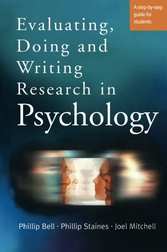 Evaluating, Doing and Writing Research in Psychology: A Step-by-Step Guide for Students by Brand: SAGE Publications Ltd