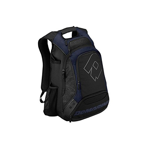 Navy Blue DeMarini NVS Baseball/Softball 2-Bat Back - Demarini Backpack Softball