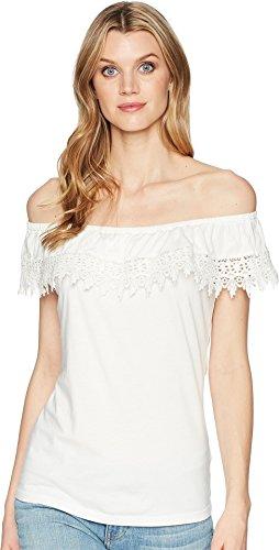 Modal Sleeveless Knit Top (Chaps Women's Leona Sleeveless Knit Top Pearl Small)