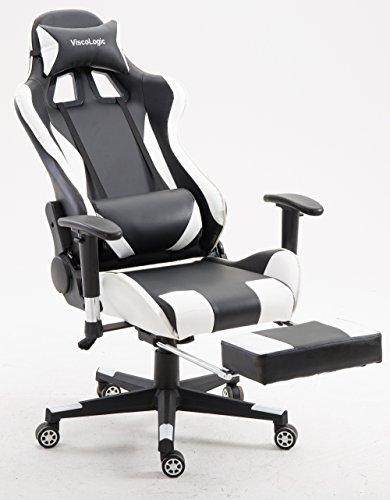 ViscoLogicR Chaise De Jeu Ergonomique SpeedX Pour PC Vido Dordinateur