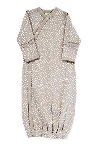 Parade Organics Kimono Gowns - Signature Prints Pebble 0-3 Months ()