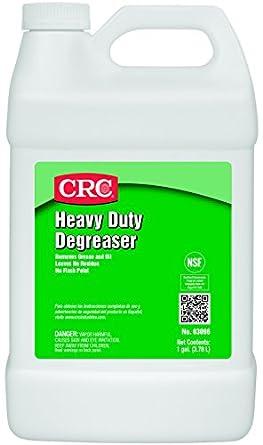 CRC Heavy Duty Degreaser, 1 Gallon Bottle, Clear: Industrial