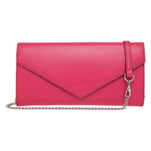 Lodis Convertible Clutch (Lodis Audrey Nina Convertible Cross-Body (Fuchsia/ Burgundy))