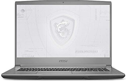 "CUK WF65 by MSI 15 Inch Mobile Workstation Laptop (Intel Core i7, 32GB RAM, 512GB NVMe SSD, NVIDIA Quadro P620 4GB, 15.6"" FHD IPS 60Hz, Windows 10 Pro) Thin Bezel Notebook Computer"