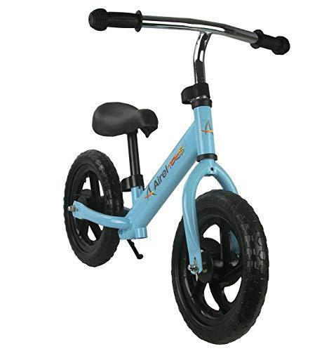 🥇 Airel Bicicleta Equilibrio para Niños   Bicicleta Sin Pedales   Bicicleta Sin Pedales Infantil   Manillar y Asiento Regulables   De 2 a 6 años