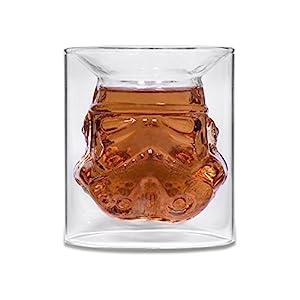 Stormtrooper Glass Tumbler Christmas Xmas Holiday Stocking Filler Secret Santa Novelty Present