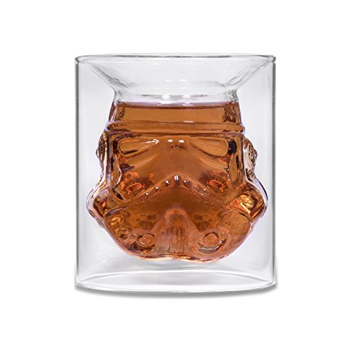 Stormtrooper Glass Tumbler Christmas Xmas Holiday Stocking Filler Secret Santa Novelty Present