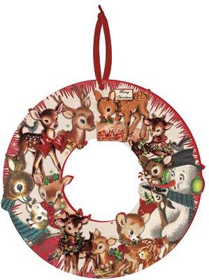 Wreath - ''Christmas'' Deer