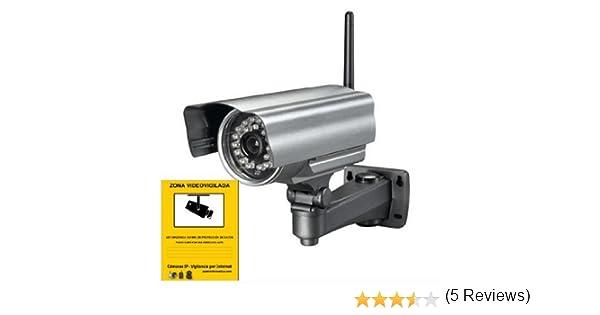 Camara IP para Exterior Visión Nocturna LED IR RJ45 WIFI INALAMBRICA SEGURIDAD: Amazon.es: Electrónica