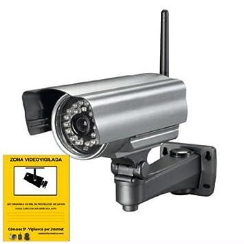 Camara IP para Exterior Visión Nocturna LED IR RJ45 WIFI INALAMBRICA SEGURIDAD