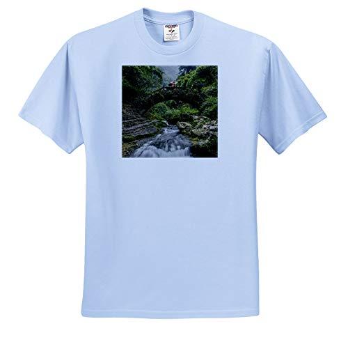 (3dRose Danita Delimont - China - Shennong Stream, Hubei Province, Yangtze River, China - Light Blue Infant Lap-Shoulder Tee (6M) (ts_312601_74))