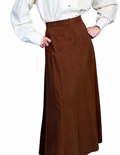 Scully Rangewear Women's Rangewear Brushed Twill Skirt Brown 10