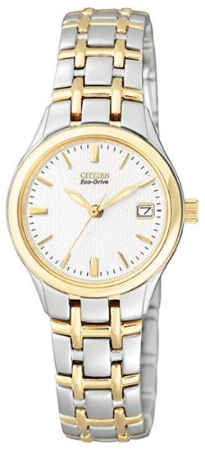 Citizen Women's EW1264-50A Eco-Drive Silhouette Two-Tone Stainless Steel Watch
