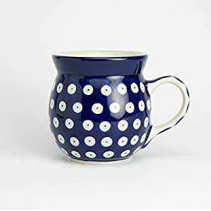 Polish Pottery Lady Mug – Blue Eyes