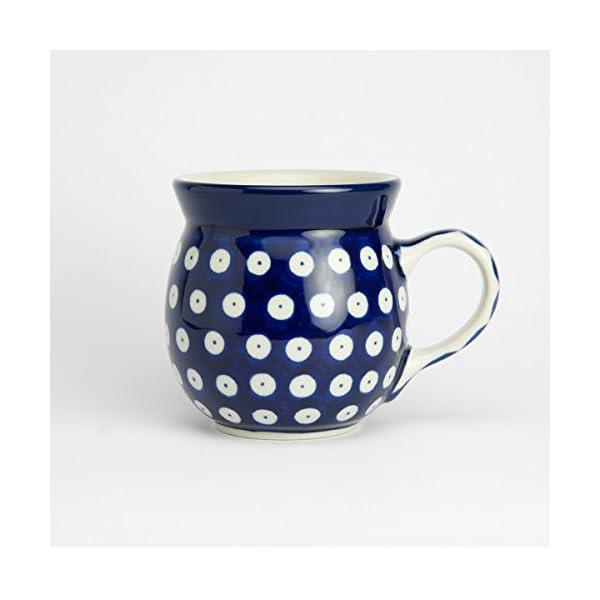 Polish Pottery Lady Mug – Blue Eyes