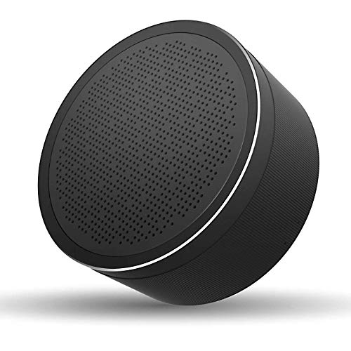 LENRUE Bluetooth Speaker V4.2, Portable Wireless Speaker with HD Sound, 18-Hour Playtime, Built-in Mic, Micro SD Support for iPhone, iPad, Laptop, Samsung and Echo dot (Black) ()