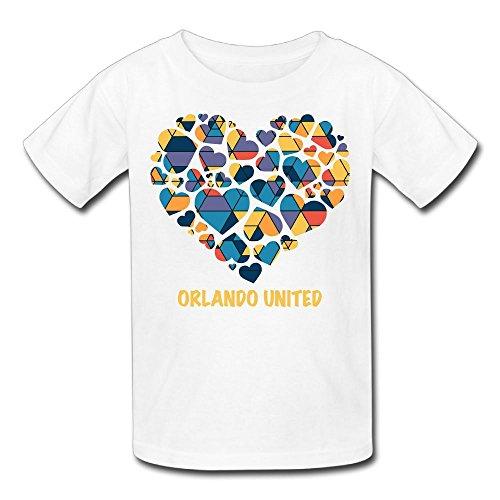 Hailin Tattoo Boys Girls Tshirt Orlando United Funny Gift T-Shirt Fashion Couple Tees