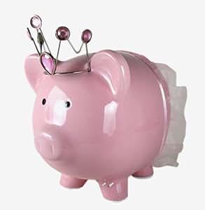 Amazon Com Do Your Roomtm Princess Piggy Bank Pink