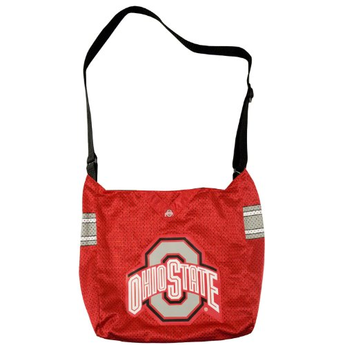 NCAA Ohio State Buckeyes Jersey Tote Bag by Littlearth