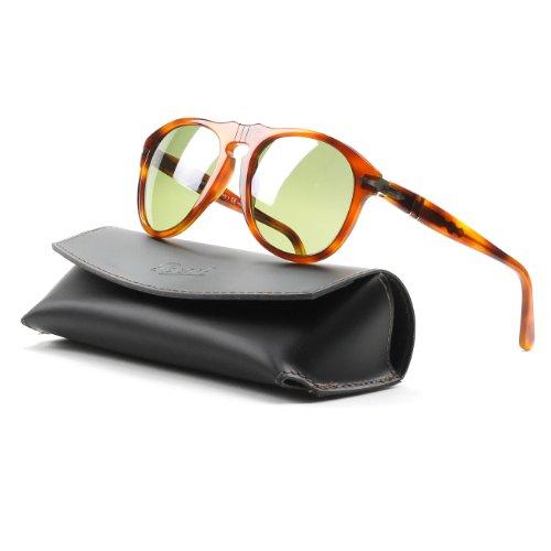 Persol Sunglasses Tortoise/Green Acetate - Polarized - - Persol 0649