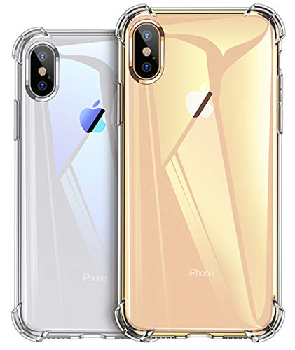 West Basics Crystal Clear iPhone Xs Max Case, Soft TPU Cover with Shock Absorption Bumper Corners and Transparent Back Slim & Protective Cases for iPhone Xs Max 6.5(2018) (Clear)