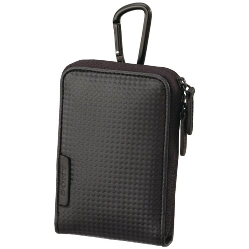 Sony LCS-CSVC Carrying Case with Carabineer for Cyber-shot Digital Camera (Black) (Sony Digital Camera Case)