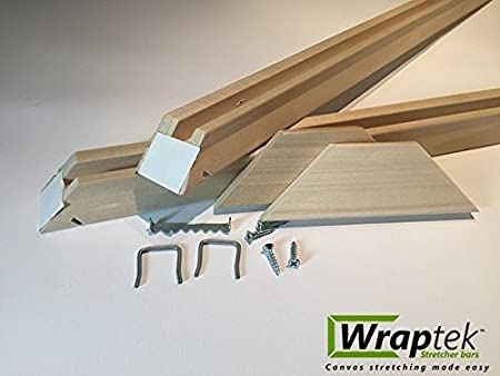 29 Wraptek Canvas Stretcher Bars Frame 2 Bar Pack