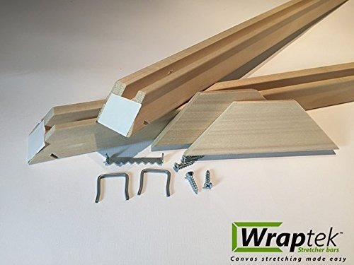 Wraptek- Canvas Stretcher Bars Frame 2 Bar Packs (16'') by Wraptek