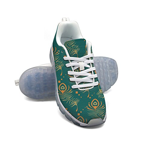 FAAERD Gypsy Vintage Peacock Pattern Men's Fashion Lightweight Mesh Air Cushion Sneakers Running Shoes low price fee shipping for sale free shipping great deals low cost sale online 2015 new sale online KEOVHIe