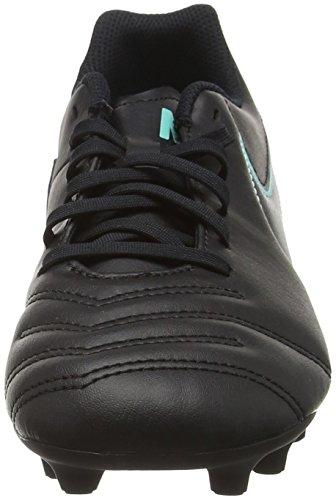 Nike Tiempo Rio Iii Fg, Botas de Fútbol para Hombre Negro (Black / Black)