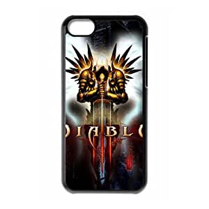iPhone 5c Cell Phone Case Black Diablo1 Ohvlx
