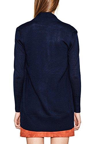 ESPRIT Collection 097eo1i004, Chaqueta Punto para Mujer Azul (Navy 400)