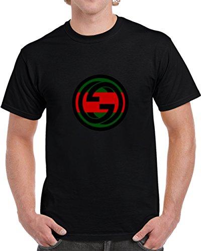 Gucci Gang LIL' Pump Inspired Men's Hip Hop Music T Shirt S (Inspired Cloth)