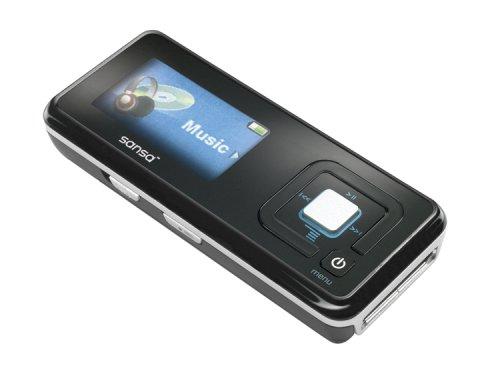 Sandisk Sansa Earphones - SanDisk Sansa c240 1 GB MP3 Player (Black)