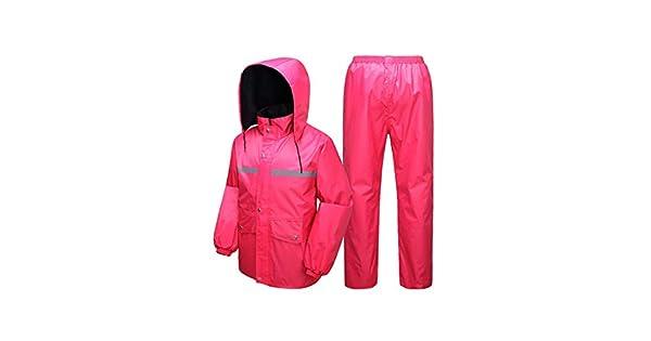 Amazon.com: Chaqueta y pantalón para mujer, impermeable ...