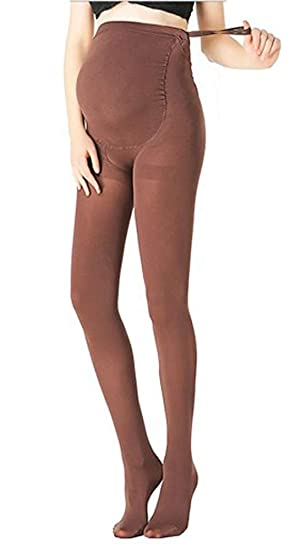 d30e6d2363bbae Bllatta Women's Adjustable Maternity Pantyhose Opaque Tights 120 Denier 4  Color at Amazon Women's Clothing store:
